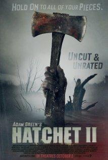 Hatchet II (2010) cover