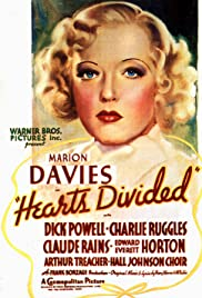 Hearts Divided (1936) cover