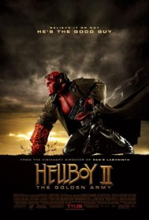 Hellboy II: The Golden Army (2008) cover
