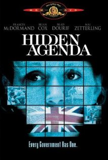 Hidden Agenda (1990) cover