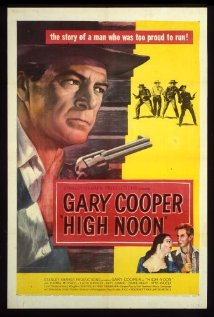 High Noon 1952 poster