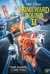 Homeward Bound II: Lost in San Francisco (1996) cover