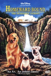 Homeward Bound: The Incredible Journey (1993) cover