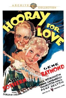Hooray for Love (1935) cover