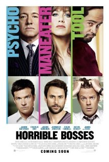 Horrible Bosses 2011 poster
