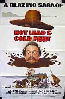 Hot Lead and Cold Feet (1978) cover