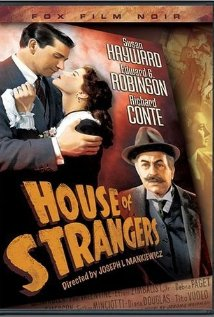 House of Strangers (1949) cover