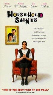 Household Saints 1993 poster