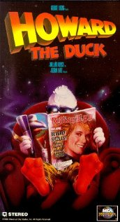 Howard the Duck 1986 poster