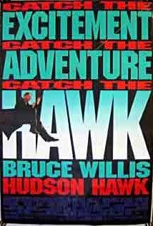 Hudson Hawk 1991 poster