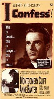 I Confess (1953) cover