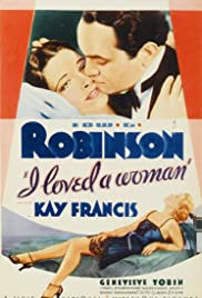 I Loved a Woman (1933) cover
