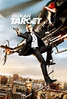 Human Target (2010) cover
