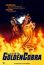 I cacciatori del cobra d'oro 1982 poster
