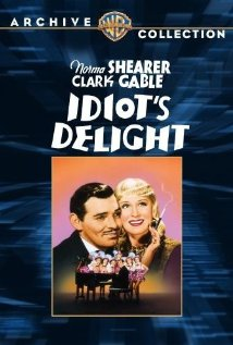 Idiot's Delight 1939 poster