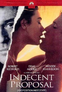Indecent Proposal (1993) cover