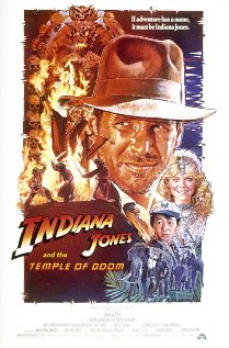 Indiana Jones and the Temple of Doom (1984) cover
