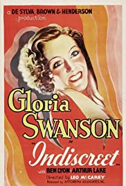 Indiscreet (1931) cover