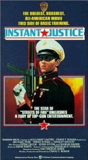 Instant Justice (1986) cover