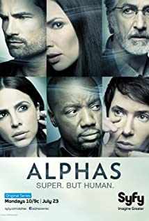Alphas (2011) cover
