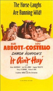 It Ain't Hay 1943 poster
