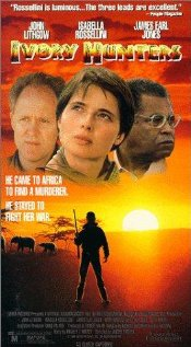Ivory Hunters 1990 poster