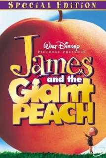 James and the Giant Peach (1996) cover