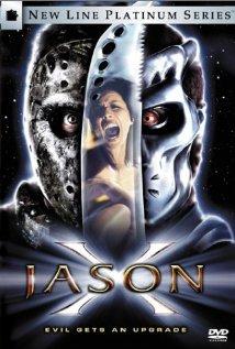 Jason X (2001) cover