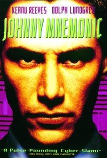 Johnny Mnemonic (1995) cover