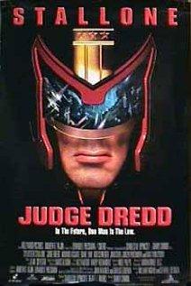 Judge Dredd (1995) cover