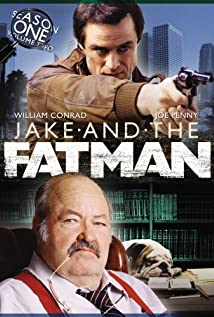 Jake and the Fatman 1987 poster