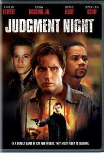 Judgment Night 1993 poster