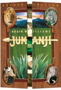 Jumanji 1995 poster