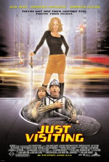 Just Visiting (2001) cover