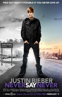Justin Bieber: Never Say Never (2011) cover