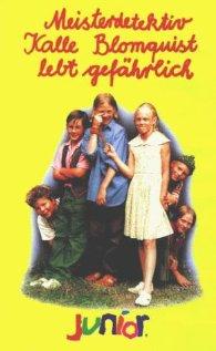 Kalle Blomkvist - Mästerdetektiven lever farligt (1996) cover