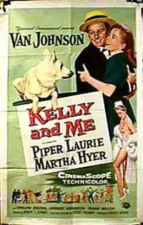 Kelly and Me 1957 poster