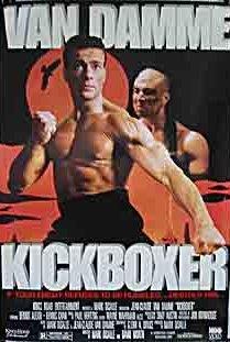 Kickboxer 1989 poster