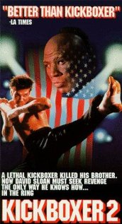 Kickboxer 2: The Road Back (1991) cover