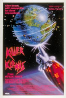 Killer Klowns from Outer Space (1988) cover