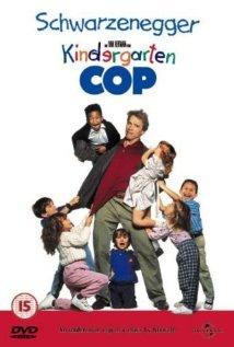 Kindergarten Cop (1990) cover