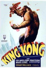 King Kong (1933) cover
