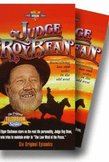Judge Roy Bean 1956 poster