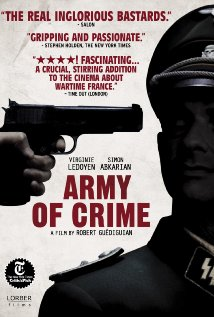 L'armée du crime 2009 poster