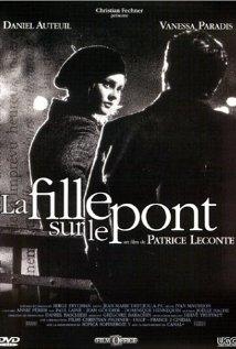 La fille sur le pont 1999 poster