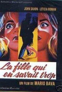 La ragazza che sapeva troppo (1963) cover