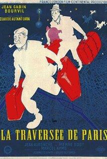 La traversée de Paris (1956) cover