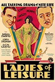 Ladies of Leisure (1930) cover