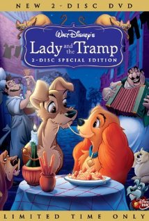 Lady and the Tramp (1955) cover