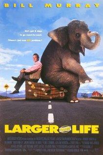 Larger Than Life 1996 poster
